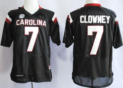 South Carolina Gamecocks #7 Jadeveon Clowney 2013 Black Jersey