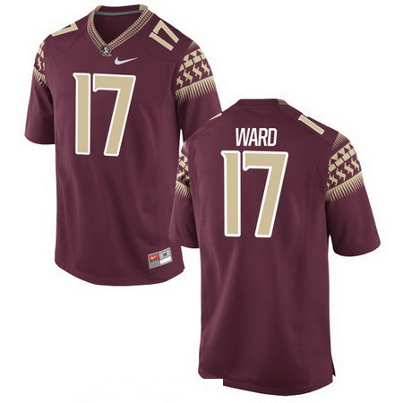 Men's Florida State Seminoles #17 Charlie Ward Red Stitched College Football 2016 Nike NCAA Jersey