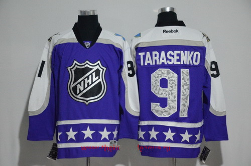 Men's Central Division St. Louis Blues #91 Vladimir Tarasenko Reebok Purple 2017 NHL All-Star Stitched Ice Hockey Jersey