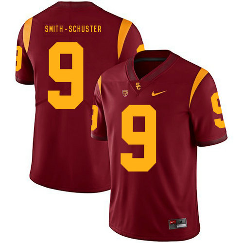 USC Trojans 9 JuJu Smith-Schuster Red College Football Jersey