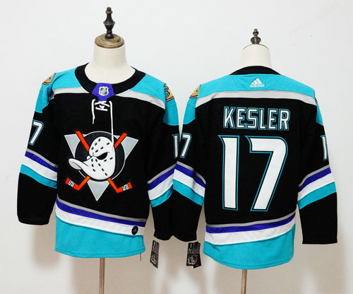 Adidas Anaheim Ducks #17 Ryan Kesler Black Alternate Authentic Player Jersey