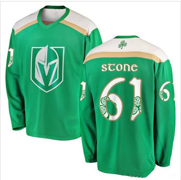 Vegas Golden Knights #61 Mark Stone Green 2019 St. Patrick's Day Adidas Jersey