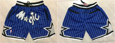 Magic Blue Stitched Shorts