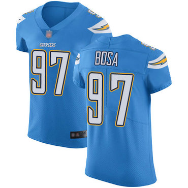Chargers #97 Joey Bosa Electric Blue Alternate Men's Stitched Football Vapor Untouchable Elite Jersey