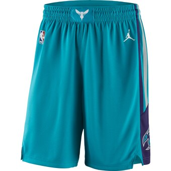 Men's Jordan Brand Teal Charlotte Hornets Icon Swingman Basketball Shorts