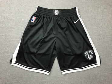 Nets Black Nike Swingman Shorts