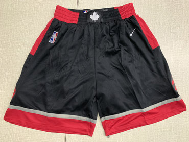 Raptors Black Nike Swingman Shorts