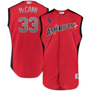 MLB American League 33 James McCann Red 2019 All-Star Game Men Jersey