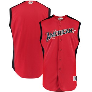 MLB American League Majestic Red 2019 All-Star Game Jersey