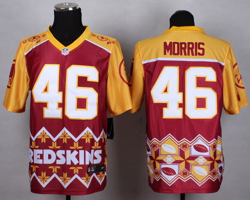 Nike Washington Redskins #46 Alfred Morris 2015 Noble Fashion Elite Jersey