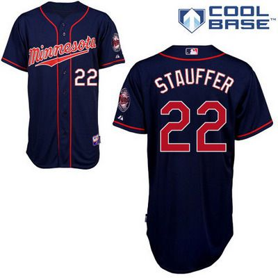Men's Minnesota Twins #22 Chris Archer Navy Blue Jersey