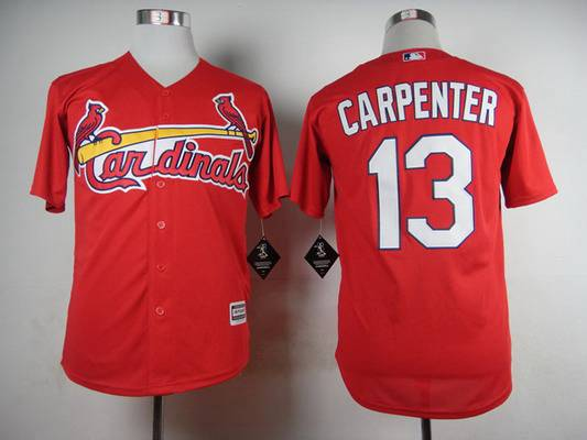 Men's St. Louis Cardinals #13 Matt Carpenter 2015 Red Jersey
