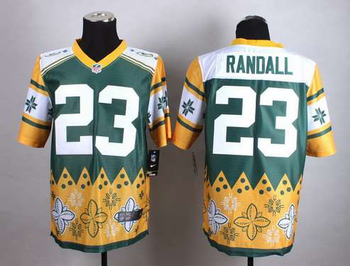 Nike Green Bay Packers #23 Damarious Randall 2015 Noble Fashion Elite Jersey