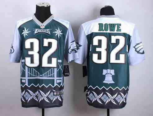 Philadelphia Eagles  #32 Eric Rowe  2015 Nike Noble Fashion Elite Jersey