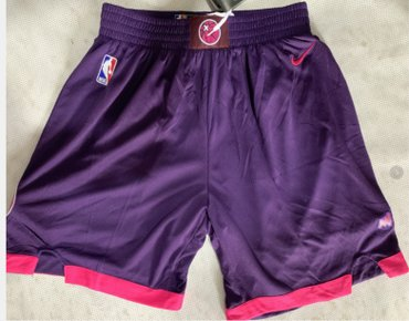 Timberwolves Purple City Edition Nike Swingman Shorts