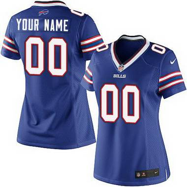 Women's Nike Buffalo Bills Customized 2013 Light Blue Game Jersey