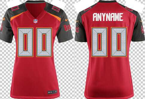 Women's Nike Tampa Bay Buccaneers Customized 2014 Red Game Jersey