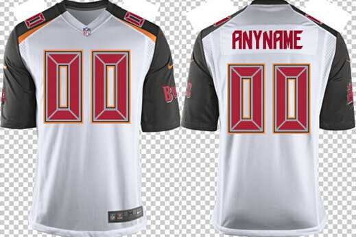 Women's Nike Tampa Bay Buccaneers Customized 2014 White Game Jersey