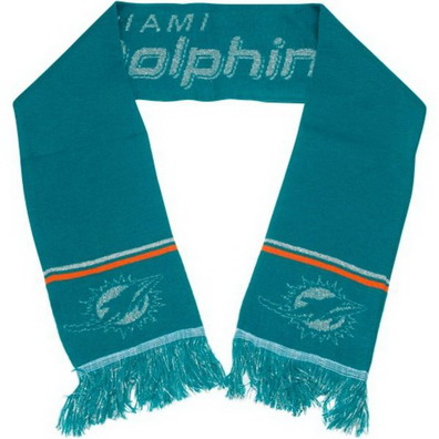 Miami Dolphins Green Scarf