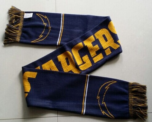 San Diego Chargers Navy Blue Scarf